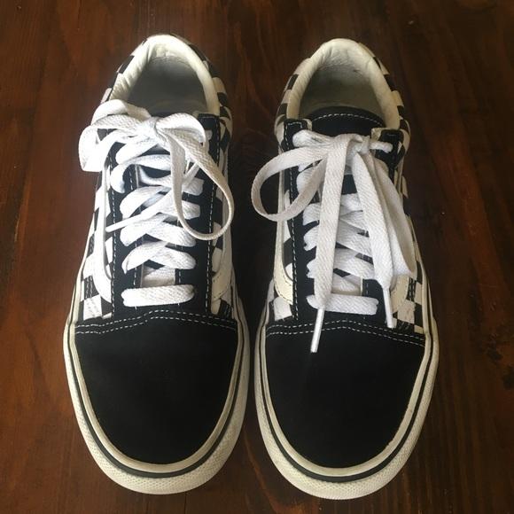 Vans Shoes   Used Vans Checkerboard Old